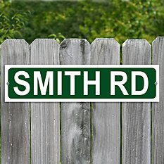 Personalized Street Metal Sign