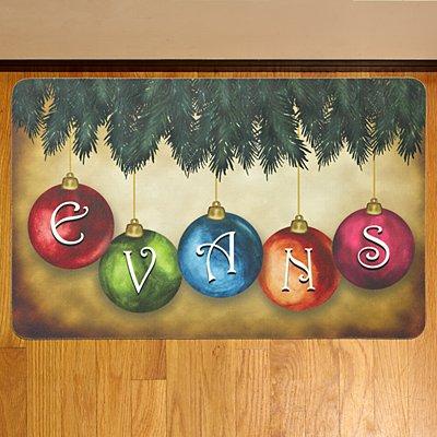 Classic Ornament Doormat