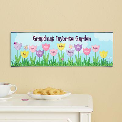 Tulip Garden Canvas
