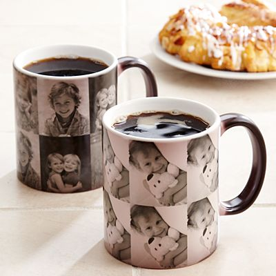 Picture Perfect Multi Photo Color Changing Mug