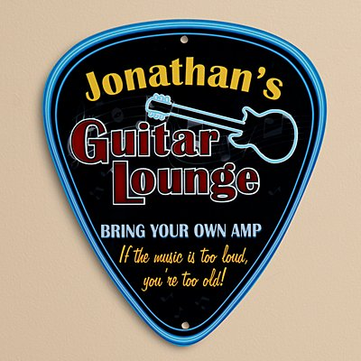 Guitar Lounge sign