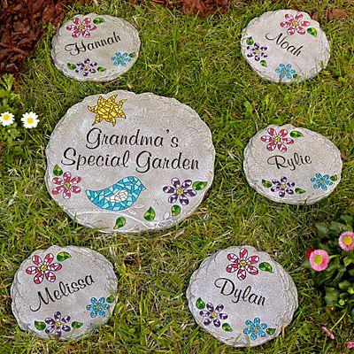 Mosaic Garden Stepping Stone