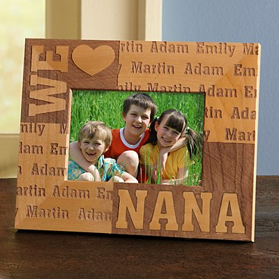 We Heart Wood Frame