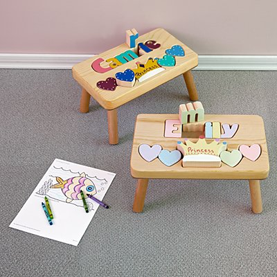 Princess Puzzle Step Stool