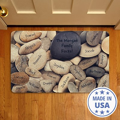 Family Rocks Doormat