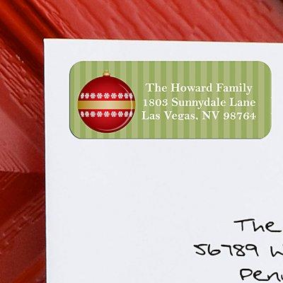 JOY Christmas Address Labels - Set of 150