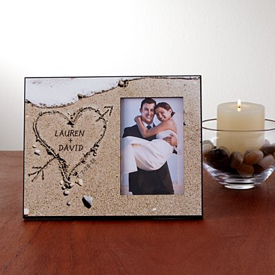 Heart in Sand Frame