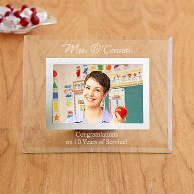 Glass Corporate Message Frame