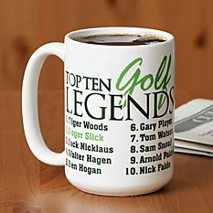 Golf Legends Mug
