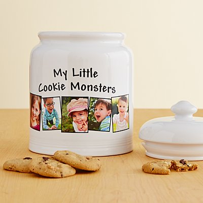 Large Photo Cookie Jar