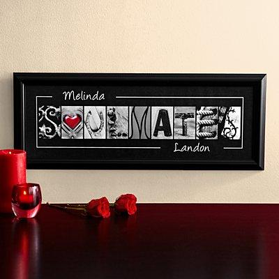 Soulmates Framed Print