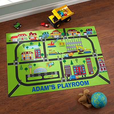 Busy Builder Playmat