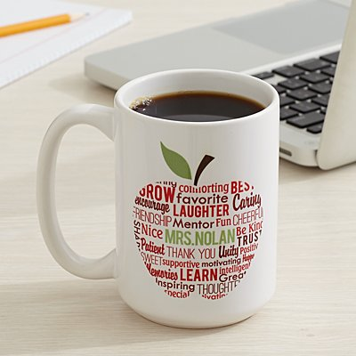 Apple for Teacher Mug