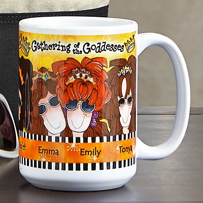 Gathering of the Goddesses Mug by Suzy Toronto