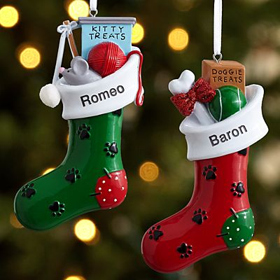 Paw-fect Pet Stocking Ornament