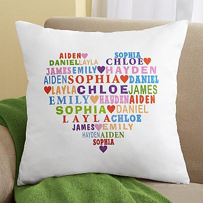 Heart Full of Love Cushions