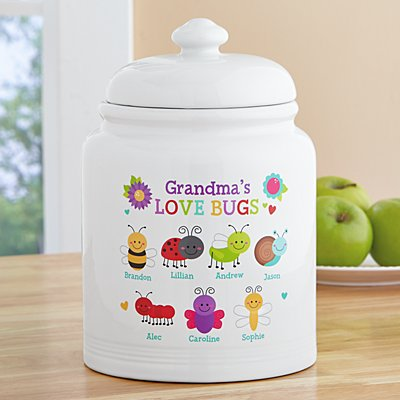 Love Bugs Cookie Jar