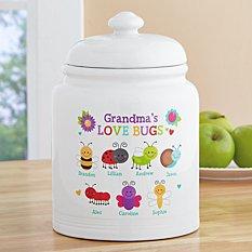 Love Bugs Cookie Jar