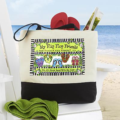 Flip Flop Friends Tote by Suzy Toronto