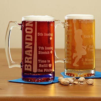 Sports Fan Oversized Beer Mug