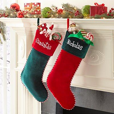 Plush Velvet Stocking