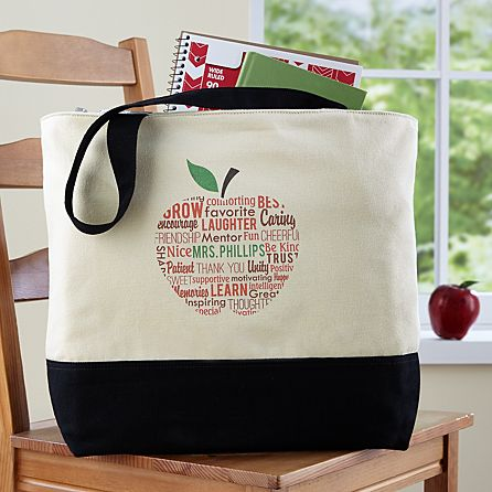 Le For Teacher Tote Bag