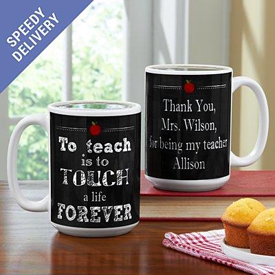 Teachers Touch Lives Mug
