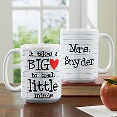 Teaching Takes Heart Mug
