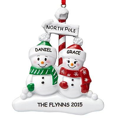 North Pole Family Ornament - 2