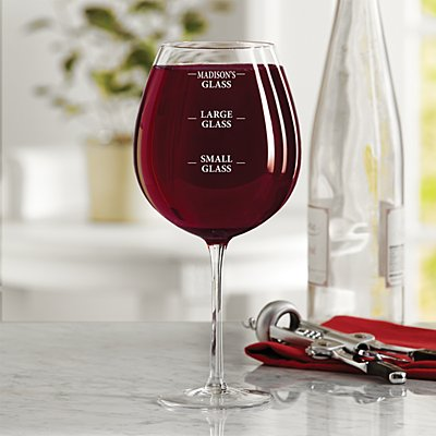 Perfect Pour Colossal Wine Glass