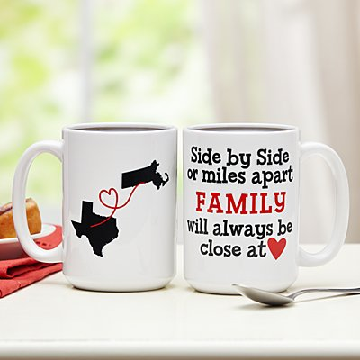 Miles Apart, Close at Heart Mug
