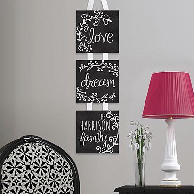 Love & Dream Hanging Mini Canvas