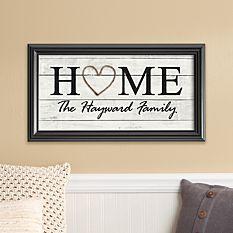 Rustic Home Framed Print
