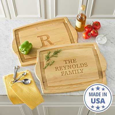 Oversized Wood Carving Board