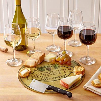 8pc Vineyard Wine Service Set
