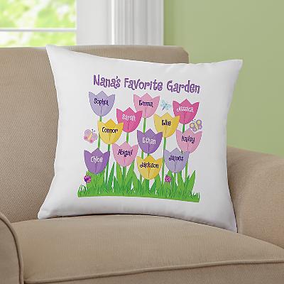 Tulip Garden Cushion