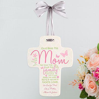 Blessing for Mom Cross