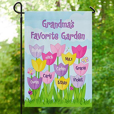 Tulip Garden Flag