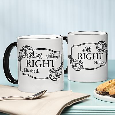 Right & Always Right Mug Set