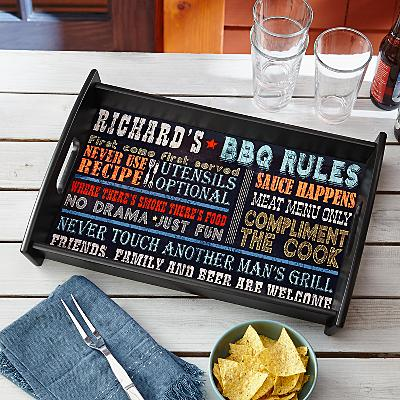 Rules for Great Barbequing Tray