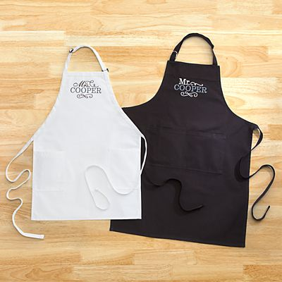 Happy Couple Apron Set