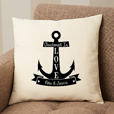 Anchored In Love Cushion