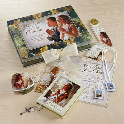 Girl 7 Piece Deluxe Communion Gift Set