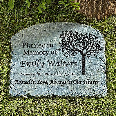 Rooted in Love Memorial Garden Marker