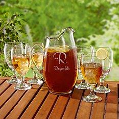 7 Piece Beverage Glass Set