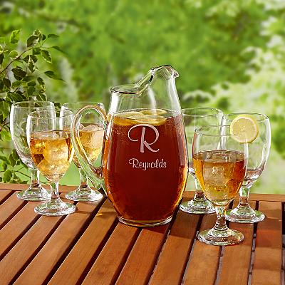 7 Piece Beverage Glass Set