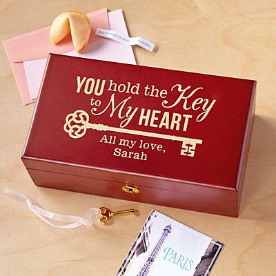 Key to My Heart Keepsake Box