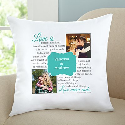 Love Is…Photo Sofa Cushion