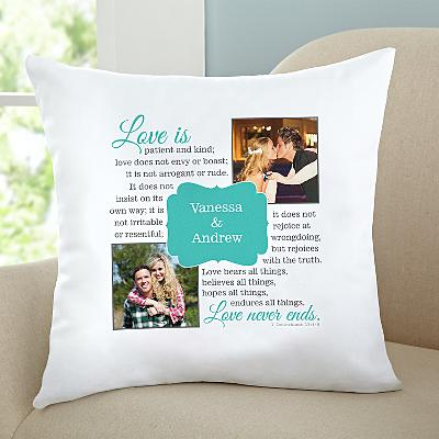 Love Is…Photo Cushion