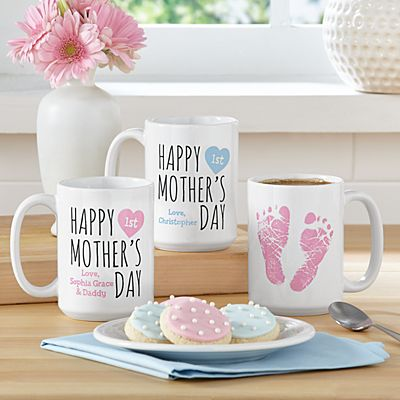 Baby Steps 1st Mother's Day Mug